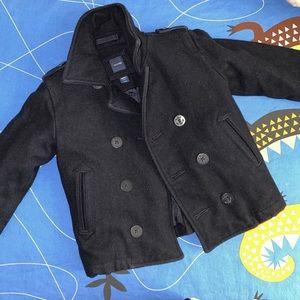 Toddler pea coat